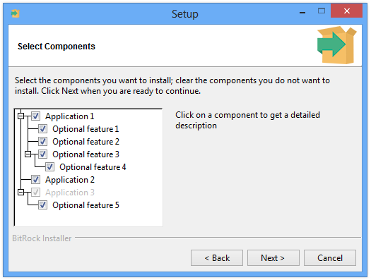 Component and Sub-component Support