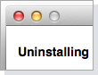 Uninstall functionality